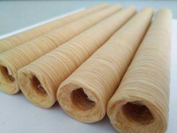 Vỏ collagen làm xúc xích